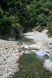 Scenic of Shakadang Trail in Taroko National Park, Taiwan on 30 April 2017 Stock Photography