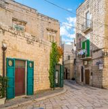 Scenic sight in Giovinazzo, province of Bari, Puglia, southern Italy. royalty free stock photography