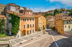Free Scenic Sight In Capena, Picturesque Village In The Province Of Rome, Lazio, Italy. Stock Photos - 135562943