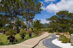 Scenic small garden Stock Image