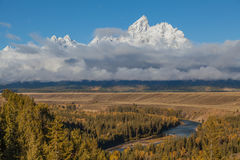 Scenic Snake River Overlook Stock Photos