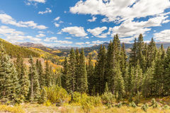 Scenic Southwest Colorado Mountains in Fall Stock Photography
