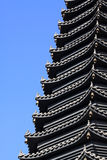 Scenic spot building �� pagoda Royalty Free Stock Photos
