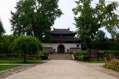 Scenic spot of langshan in Nantong, Jiangsu Province, China Stock Photos