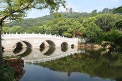 Scenic spot of langshan in Nantong, Jiangsu Province, China Royalty Free Stock Images