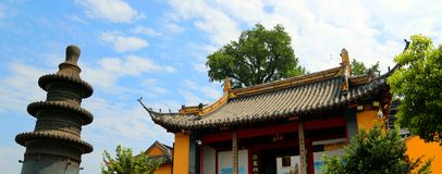 Scenic spot of langshan in Nantong, Jiangsu Province, China Royalty Free Stock Image