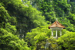 Scenic spot at Taiwan. One of scenic spot at Chang Chun Shrine, Taroko National Park, Hualien, Taiwan Royalty Free Stock Photo