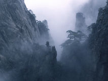 Scenic spots in Mount Huangshan, Anhui Province, China Royalty Free Stock Image