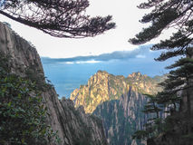 Scenic spots in Mount Huangshan, Anhui Province, China Stock Photography