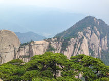 Scenic spots in Mount Huangshan, Anhui Province, China Royalty Free Stock Photography