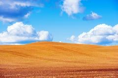 Scenic Stubble Farmland Royalty Free Stock Photo
