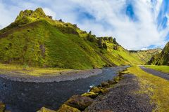 Scenic Iceland Royalty Free Stock Photo