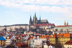 Scenic summer view of Old Town architecture in Royalty Free Stock Photography