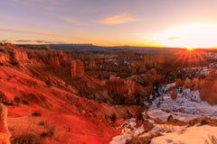 Bryce Canyon National Park Sunrise stock photos