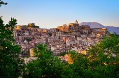 Free Scenic Sunset View Of Castiglione Di Sicilia Village, Sicily Royalty Free Stock Images - 115973309