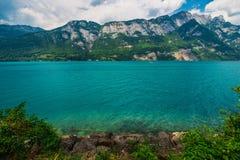 Scenic Swiss Lake Brienz Stock Image