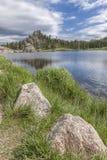Scenic Sylvan Lake. The rocky landscape surrounding the famous Sylvan Lake near Custer, South Dakota Stock Photo