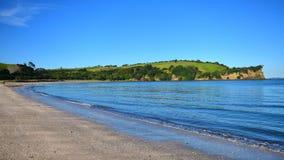Scenic Te Haruhi Bay at Shakespear Regional Park Royalty Free Stock Photography