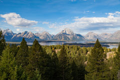 Scenic Teton Landscape Royalty Free Stock Images