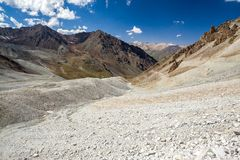 Scenic Tien Shan mountains Royalty Free Stock Images