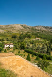 Scenic traditional stone house in Provence Stock Photos