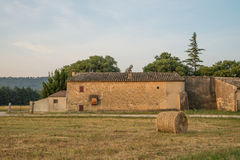 Scenic traditional stone house in Provence Royalty Free Stock Photo