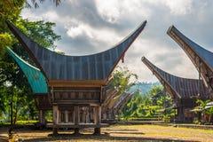 Scenic traditional village in Tana Toraja Stock Photos