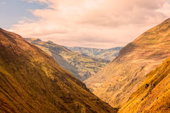 Scenic Train Route, Nariz Del Diablo, South America Royalty Free Stock Images