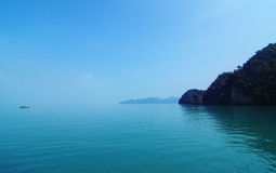 Scenic tropical Malaysia stock image