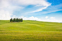 Scenic Tuscany landscape Royalty Free Stock Photos
