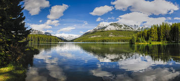 Scenic Two Jack Lake Royalty Free Stock Images