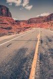 Scenic Utah Desert Road Royalty Free Stock Photos