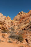 Scenic Valley of Fire Landscape Stock Photo
