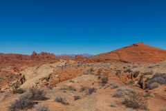 Scenic Valley of Fire Landscape Royalty Free Stock Photo