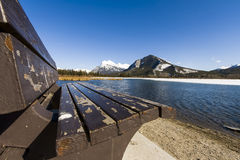 Scenic Vermillion Lake in Banff National Park Royalty Free Stock Photo