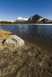 Scenic Vermillion Lake in Banff National Park Stock Photo