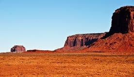 Scenic vibrant desert view of sandstone Royalty Free Stock Images