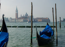 Scenic view across lagoon in Venice Royalty Free Stock Photography