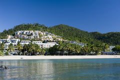 Scenic view of Airlie Beach North Queensland Stock Photos