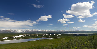 Scenic view alaska Stock Photography