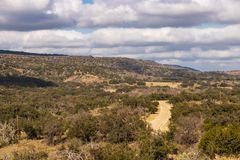 Willow City Loop 2. A scenic view along a portion of the Willow City Loop in the Texas Hill Country near Fredericksburg, Texas royalty free stock photography