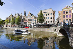 Scenic view in Amsterdam Royalty Free Stock Images