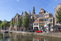 Scenic view in Amsterdam Royalty Free Stock Photos