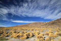 Scenic view in Andes Mountains, Bolivia Stock Images