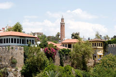 A scenic view of Antalya city Royalty Free Stock Photo