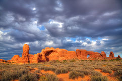 Scenic view at Arches National Park, Utah, USA Royalty Free Stock Image