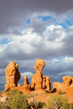 Scenic view at Arches National Park, Utah, USA Stock Photography