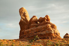 Scenic view at Arches National Park, Utah, USA Royalty Free Stock Photography