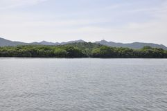 Scenic view area of the famous West Lake from Hangzhou. Beautiful scenic view area from the West Lake in Hangzhou on 3rd may 2018 stock photos