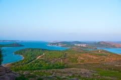 Scenic view of Ayvalik Royalty Free Stock Photos